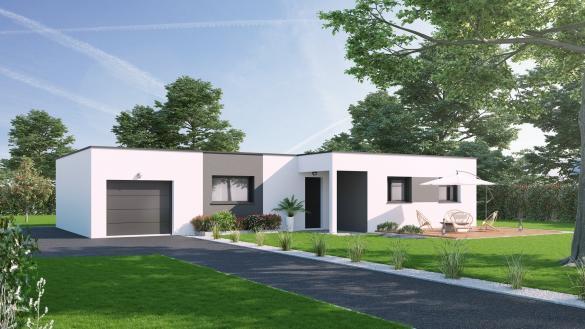 Maison+Terrain à vendre .(90 m²)(HAVERNAS) avec (VILLAS-CLUB)