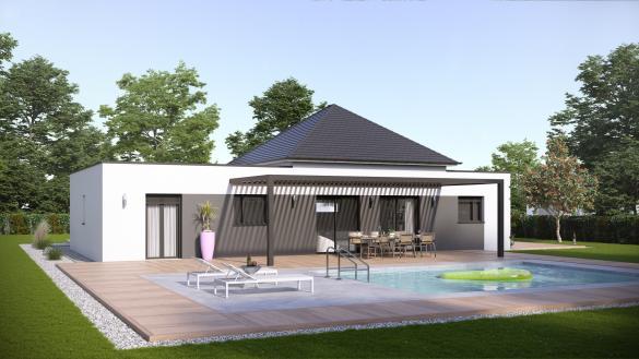 Maison à vendre .(100 m²)(POIX DE PICARDIE) avec (VILLAS-CLUB)