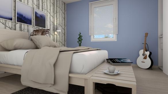 Maison+Terrain à vendre .(85 m²)(AUPPEGARD) avec (-)