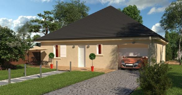 Maison+Terrain à vendre .(92 m²)(CIDEVILLE) avec (-)