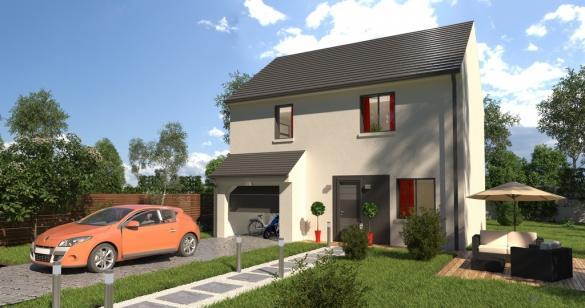Maison+Terrain à vendre .(89 m²)(SAINT AUBIN LES ELBEUF) avec (-)