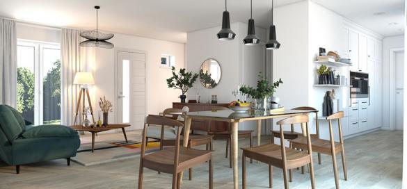 Maison+Terrain à vendre .(105 m²)(LES PIEUX) avec (MAISONS FRANCE CONFORT)