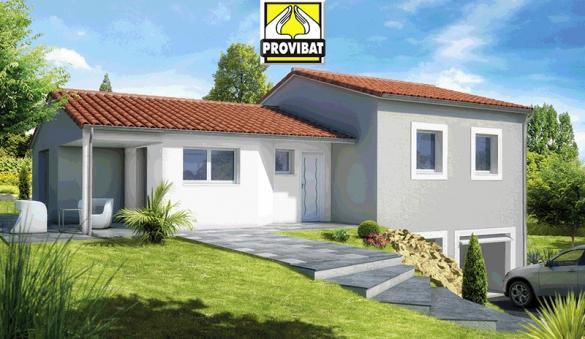 Maison+Terrain à vendre .(80 m²)(CODOGNAN) avec (PROVIBAT)