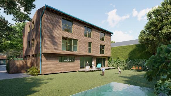 Maison+Terrain à vendre .(188 m²)(VILLENNES SUR SEINE) avec (Espace concept)