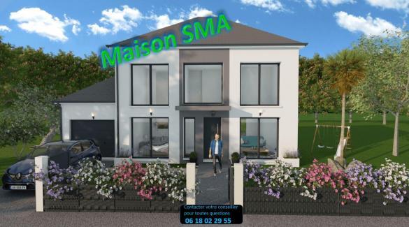 Maison+Terrain à vendre .(100 m²)(CORBEIL ESSONNES) avec (MAISONS SMA)