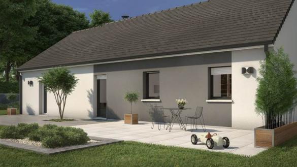 Maison+Terrain à vendre .(92 m²)(POMMERIEUX) avec (Maisons France Confort-maisons-france-confort)