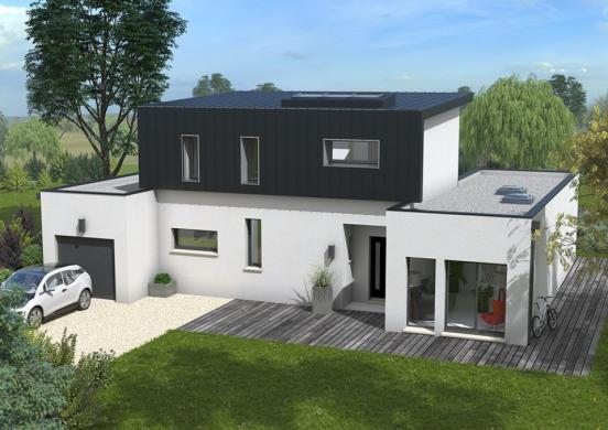 Maison+Terrain à vendre .(115 m²)(LA BAZOGE MONTPINCON) avec (MAISONS FRANCE CONFORT)