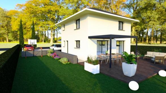 Maison à vendre .(110 m²)(AIX LES BAINS) avec (CONSTRUCTEURS DES ALPES)
