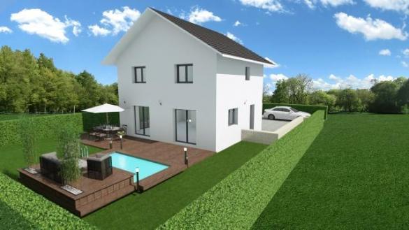 Maison à vendre .(91 m²)(MONTCEL) avec (CONSTRUCTEURS DES ALPES)