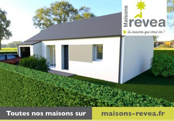 Maison à vendre .(81 m²)(LEGE) avec (MAISONS REVEA)