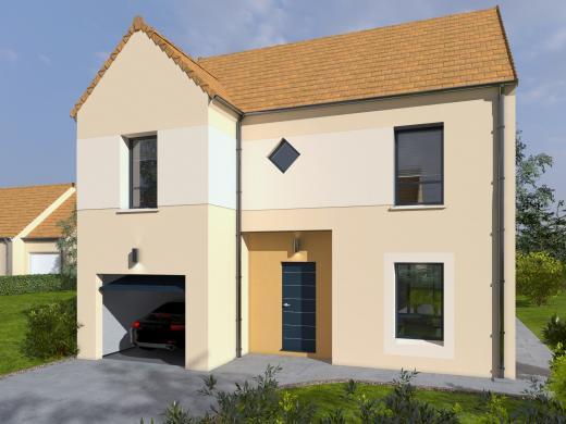 Maison+Terrain à vendre .(114 m²)(NEAUPHLE LE CHATEAU) avec (Les maisons Lelievre)