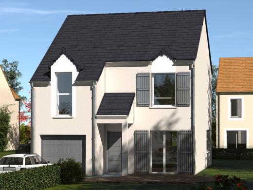 Maison+Terrain à vendre .(106 m²)(ABLIS) avec (Les maisons Lelievre)