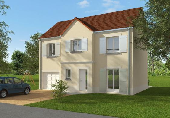 Maison+Terrain à vendre .(122 m²)(GAZERAN) avec (Les maisons Lelievre)