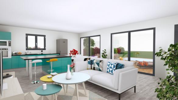 Maison+Terrain à vendre .(80 m²)(MONTESQUIEU DES ALBERES) avec (MAISON BATI OCCITAN)