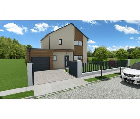 Maison à vendre .(115 m²)(MARCILLY EN VILLETTE) avec (MAISONS BAC PREMIUM)