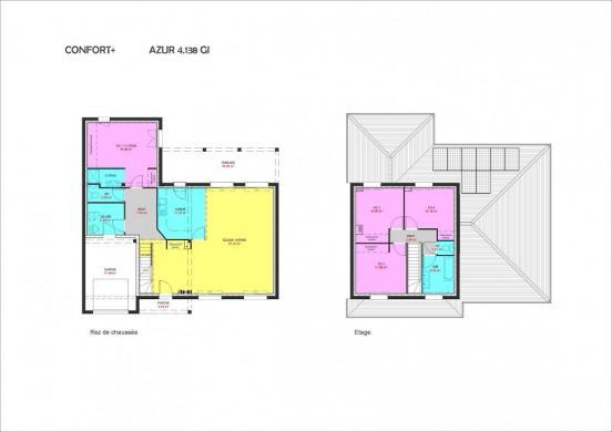Maison à vendre .(138 m²)(PONT A MARCQ) avec (Maisons Pierre VILLENEUVE D ASCQ)