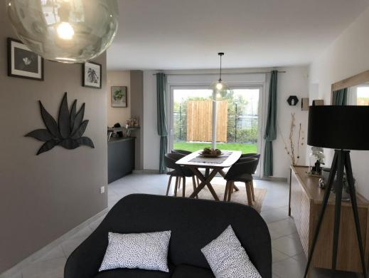 Maison à vendre .(91 m²)(MASTAING) avec (Maisons Pierre VILLENEUVE D ASCQ)