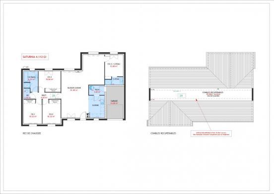 Maison à vendre .(112 m²)(HALLUIN) avec (Maisons Pierre VILLENEUVE D ASCQ)