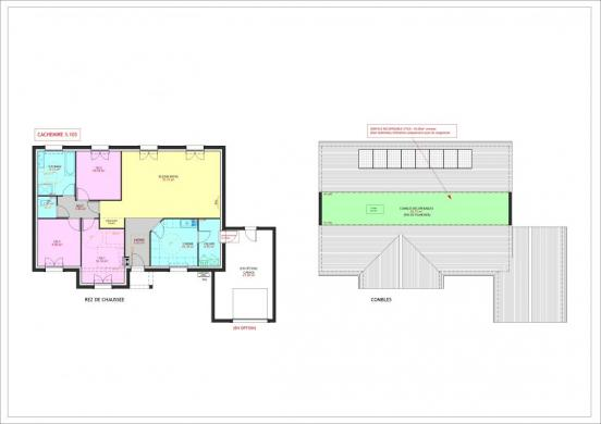 Maison à vendre .(103 m²)(HALLUIN) avec (Maisons Pierre VILLENEUVE D ASCQ)