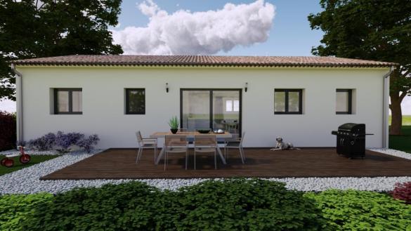 Maison à vendre .(89 m²)(LORIOL SUR DROME) avec (TRADITION LOGIS)