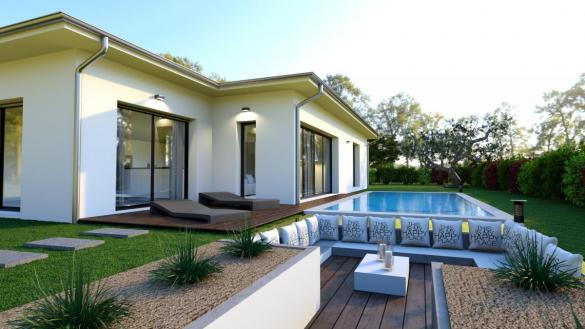 Maison à vendre .(91 m²)(LA COUCOURDE) avec (TRADITION LOGIS)