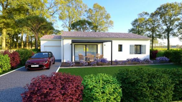Maison à vendre .(85 m²)(LIVRON SUR DROME) avec (TRADITION LOGIS)