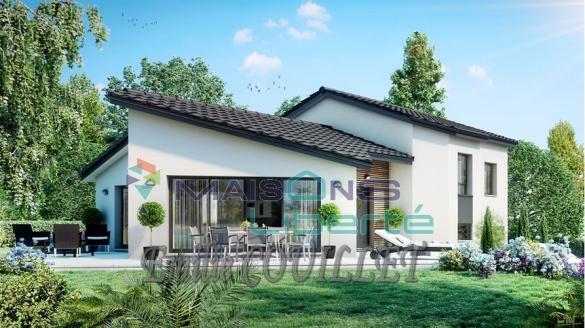 Maison+Terrain à vendre .(95 m²)(SAINT MONTAN) avec (MAISONS LIBERTE - BOURG LES VALENCE)