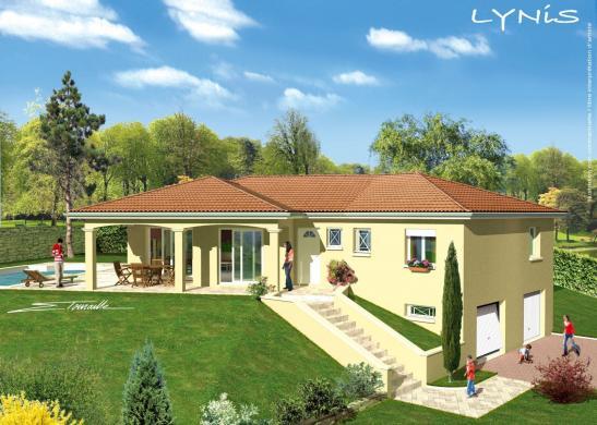 Maison+Terrain à vendre .(114 m²)(VILLETTE D'ANTHON) avec (GANOVA - AGENCE DE LYON EST)