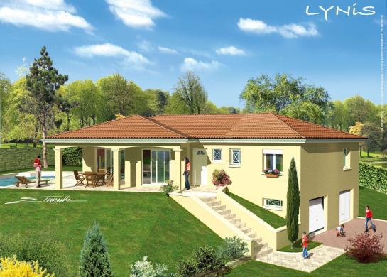 Maison+Terrain à vendre .(136 m²)(LAGNIEU) avec (GANOVA - AGENCE DE LAGNIEU)