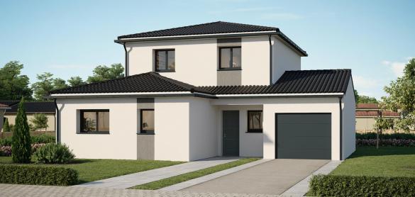 Maison+Terrain à vendre .(100 m²)(TALMONT SAINT HILAIRE) avec (LES MAISONS CHANTAL B)