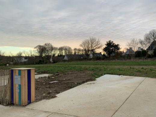 Terrain à vendre .(390 m²)(PLOMELIN) avec (MAISONS I)
