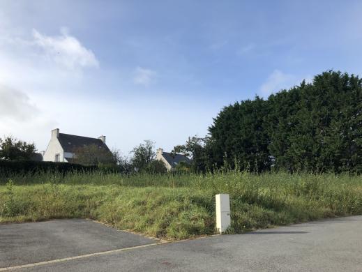 Terrain à vendre .(688 m²)(PONT CROIX) avec (Maisons i Douarnenez)