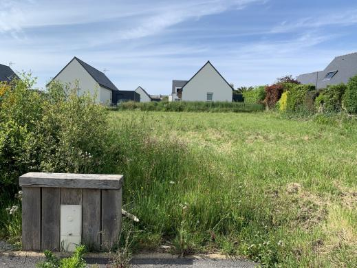 Terrain à vendre .(503 m²)(POULLAN SUR MER) avec (Maisons i Douarnenez)