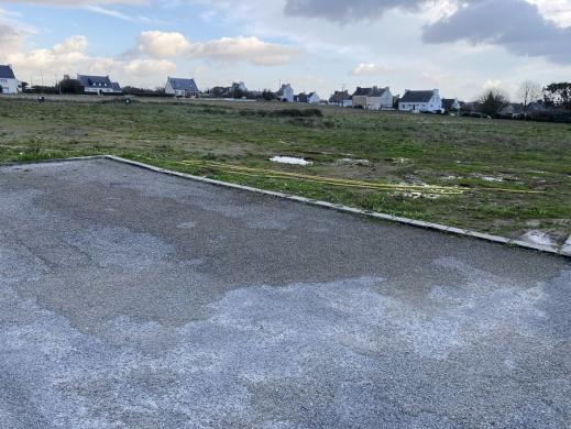 Terrain à vendre .(468 m²)(POULDREUZIC) avec (Maisons i Douarnenez)