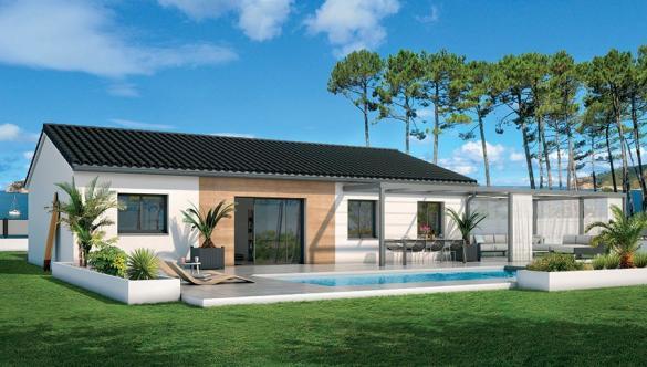 Maison+Terrain à vendre .(80 m²)(POMEROLS) avec (Maison Groupe ATHENA)