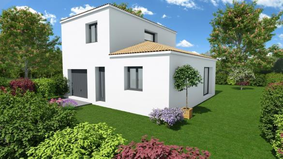 Maison+Terrain à vendre .(85 m²)(VIAS) avec (Maison Groupe ATHENA)