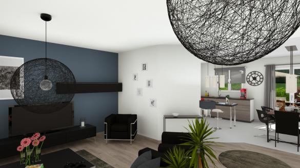 Maison à vendre .(90 m²)(NOTRE DAME DE RIEZ) avec (MAISONS LOGELIS - AGENCE DE LA ROCHE SUR YON)