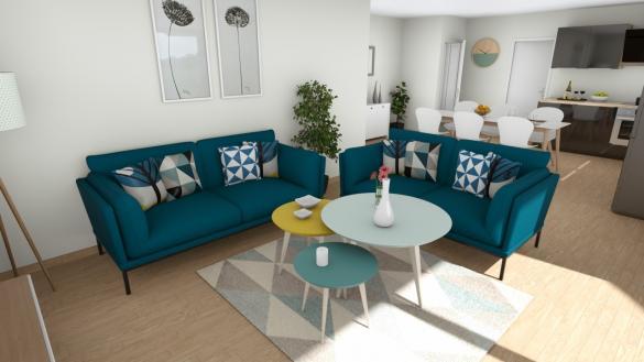 Maison à vendre .(85 m²)(SAINT VINCENT SUR JARD) avec (MAISONS LOGELIS - AGENCE DE LA ROCHE SUR YON)