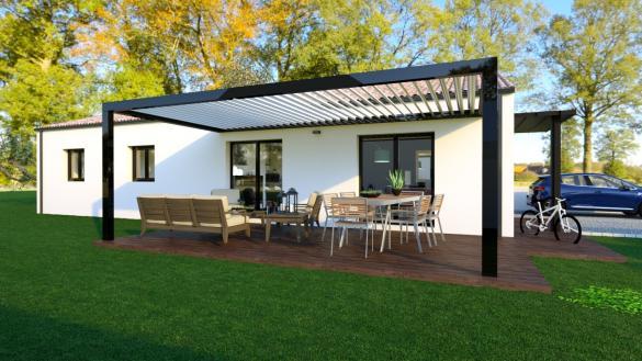 Maison à vendre .(93 m²)(TALMONT SAINT HILAIRE) avec (MAISONS LOGELIS - AGENCE DE LA ROCHE SUR YON)