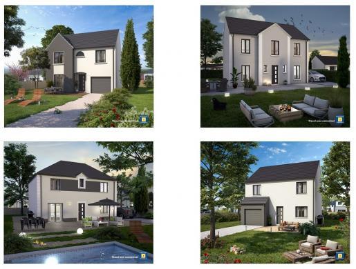 Maison+Terrain à vendre .(125 m²)(ETAMPES) avec (Maisons Sésame)