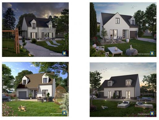 Maison+Terrain à vendre .(160 m²)(BONNELLES) avec (Maisons Sésame)