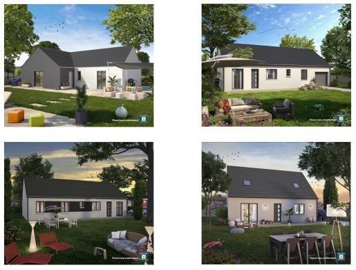 Maison+Terrain à vendre .(102 m²)(ARPAJON) avec (Maisons Sésame)