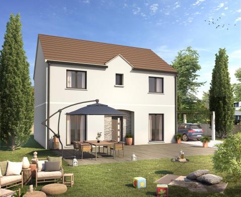 Maison+Terrain à vendre .(130 m²)(SAINT CHERON) avec (Maisons Sésame)