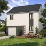 Maison+Terrain à vendre .(90 m²)(CERNY) avec (Maisons Sésame)