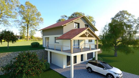 Maison à vendre .(130 m²)(VALLIERES) avec (MODULHABITAT - ANNECY)