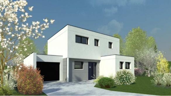 Maison+Terrain à vendre .(126 m²)(MESQUER) avec (DESIGN HABITAT)