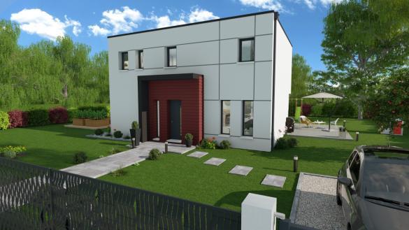 Maison+Terrain à vendre .(128 m²)(PONTCHATEAU) avec (DESIGN HABITAT)