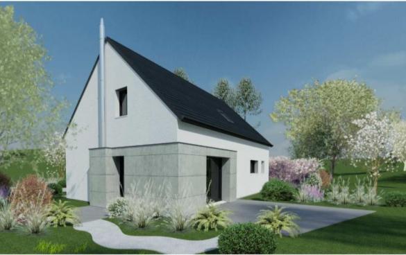 Maison+Terrain à vendre .(103 m²)(MISSILLAC) avec (DESIGN HABITAT)