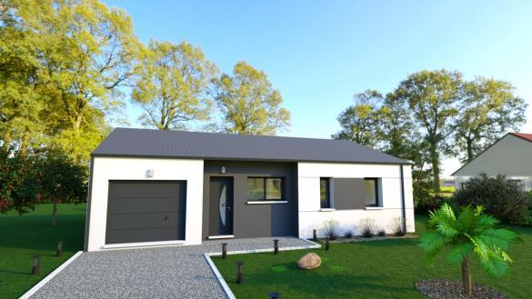 Maison+Terrain à vendre .(SAINT MOLF) avec (DESIGN HABITAT)