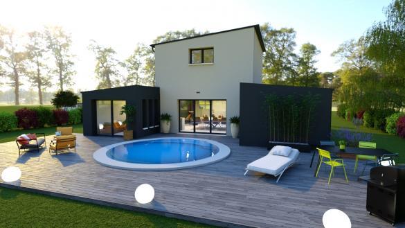 Maison+Terrain à vendre .(SAINT LYPHARD) avec (DESIGN HABITAT)